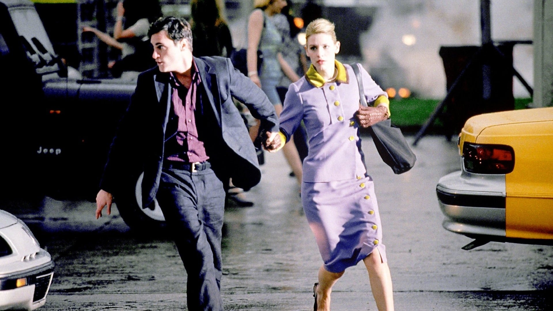 Lovers Joaquin Phoenix and Claire Danes seek to run away from it all in It's All About Love (2003)
