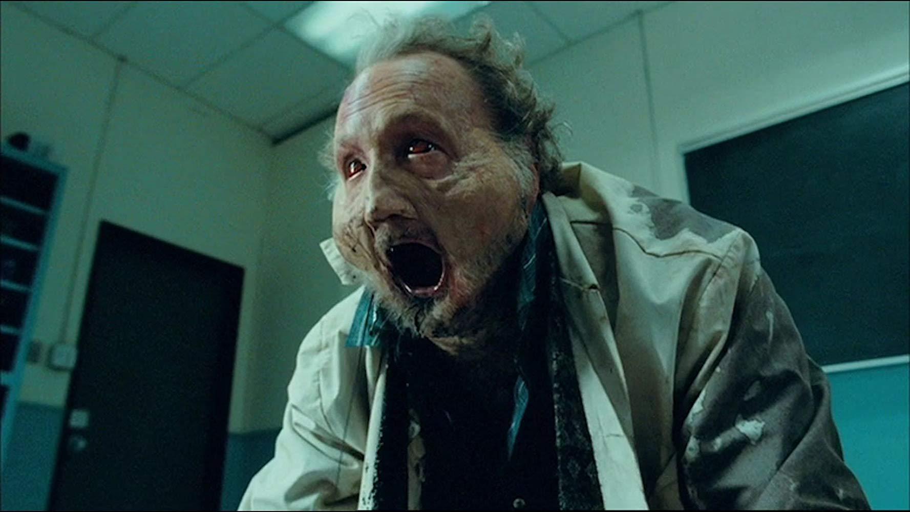 Robert Englund undergoes transformation in Jack Brooks, Monster Slayer (2007)