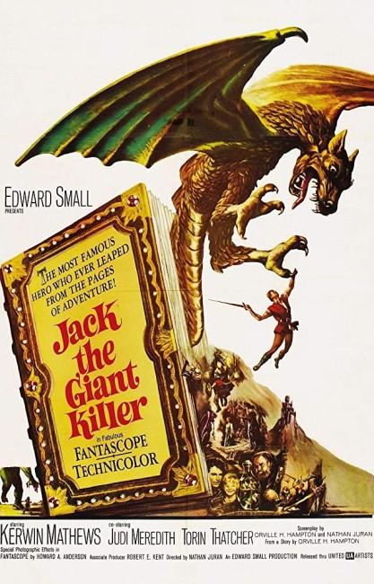 Jack the Giant Killer (1962) poster