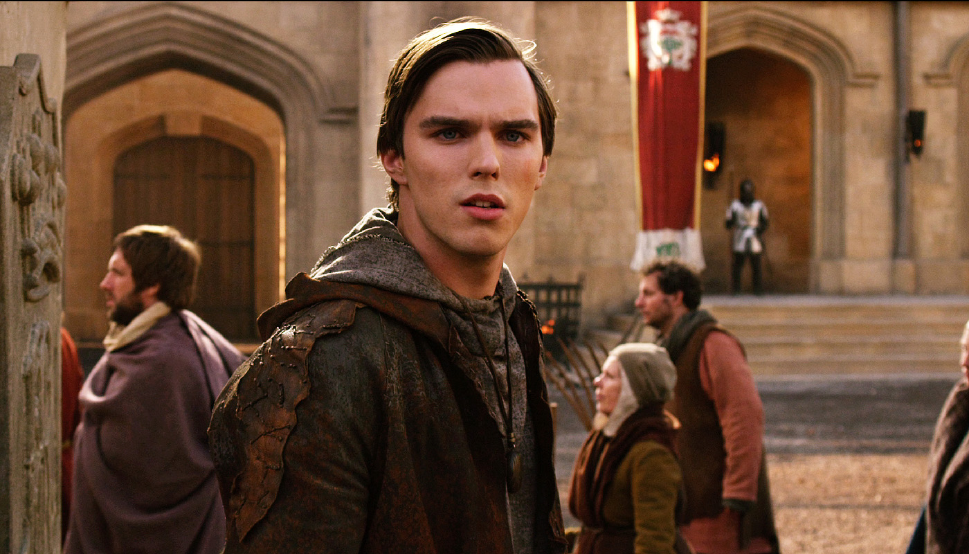 Nicholas Hoult as Jack the Giant Slayer (2013)