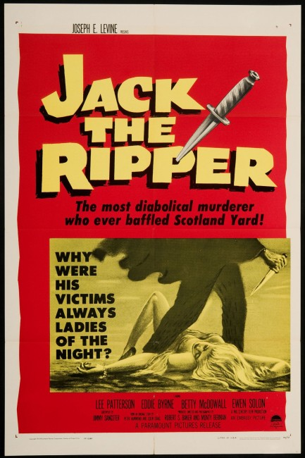 Jack the Ripper (1959) poster