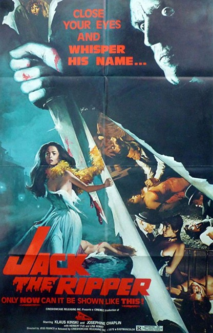Jack the Ripper (1976) poster 2