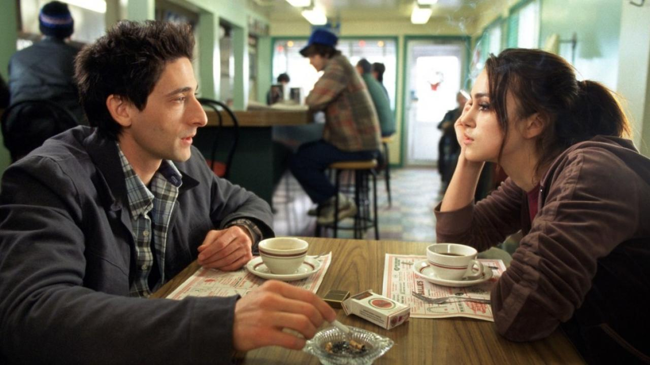 Adrien Brody and Keira Knightley in The Jacket (2005)