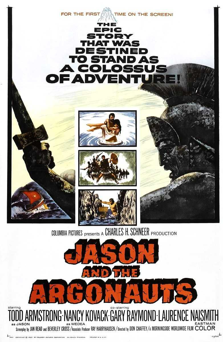 Jason and the Argonauts (1963) poster