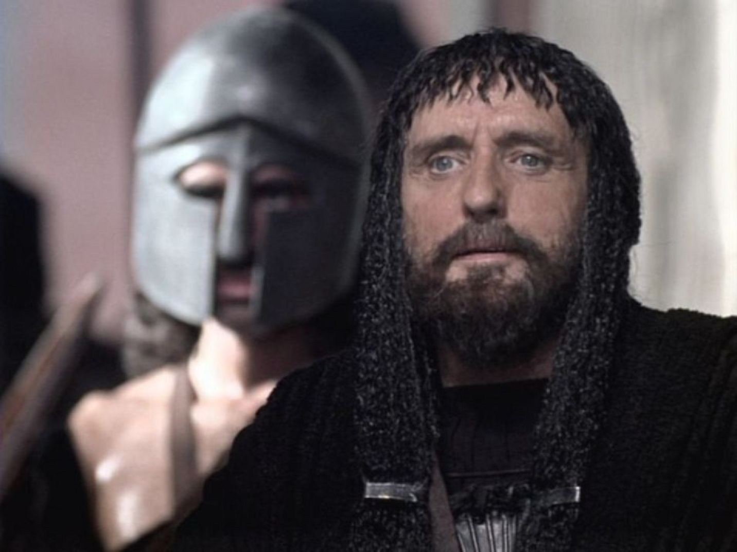 King Pelias (Dennis Hopper) in Jason and the Argonauts (2000)
