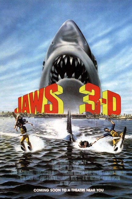Jaws 3-D (1983) poster