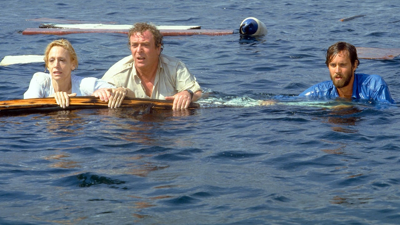 Lorraine Gary, Michael Caine and Lance Guest in Jaws The Revenge (1987)