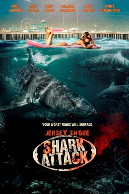 Jersey Shore Shark Attack (2012) poster