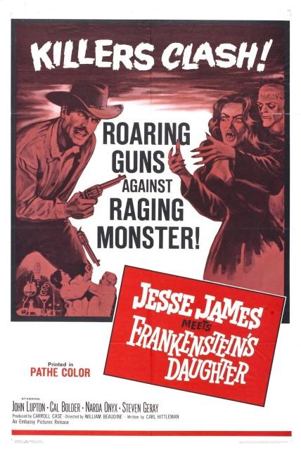 Jesse James Meets Frankenstein's Daughter (1966) poster