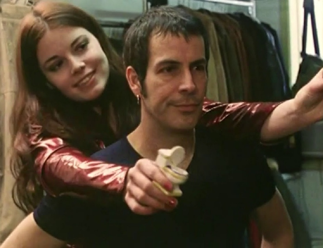 Jesus (Phil Caracas) and Mary Magnum (Maria Moulton) in Jesus Christ, Vampire Hunter (2001)