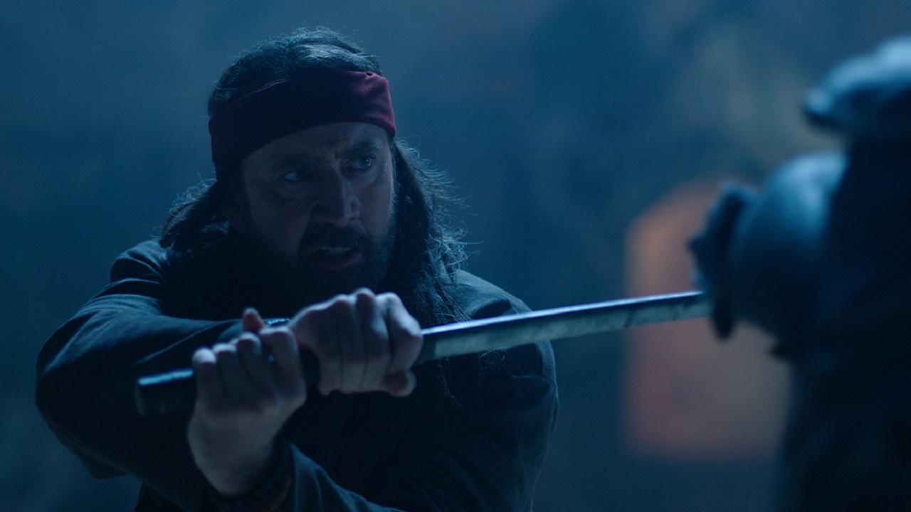 Nicolas Cage as Wylie in Jiu Jitsu (2020)