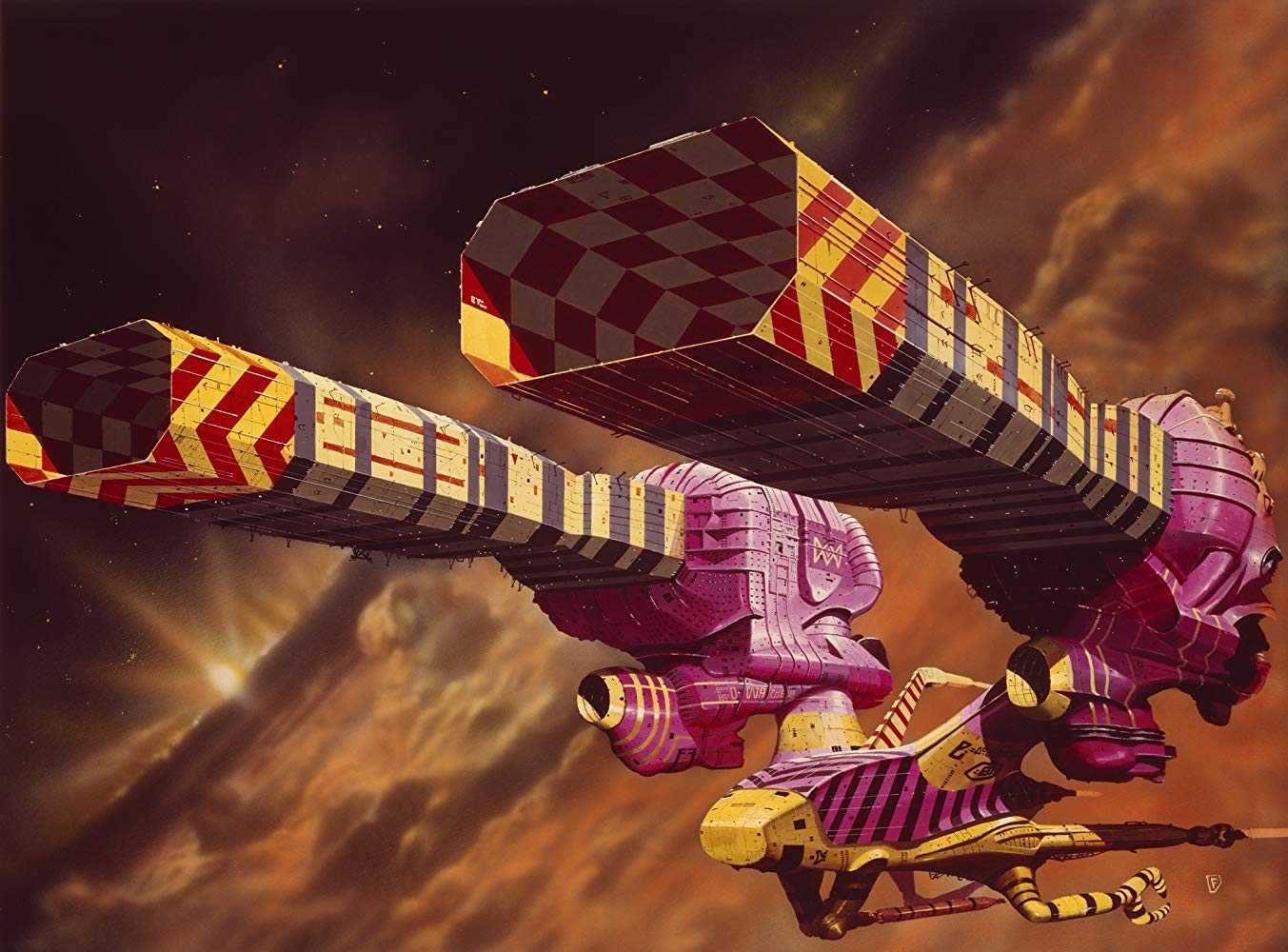 Chris Foss's concept artwork in Jodorowsky's Dune (2013)