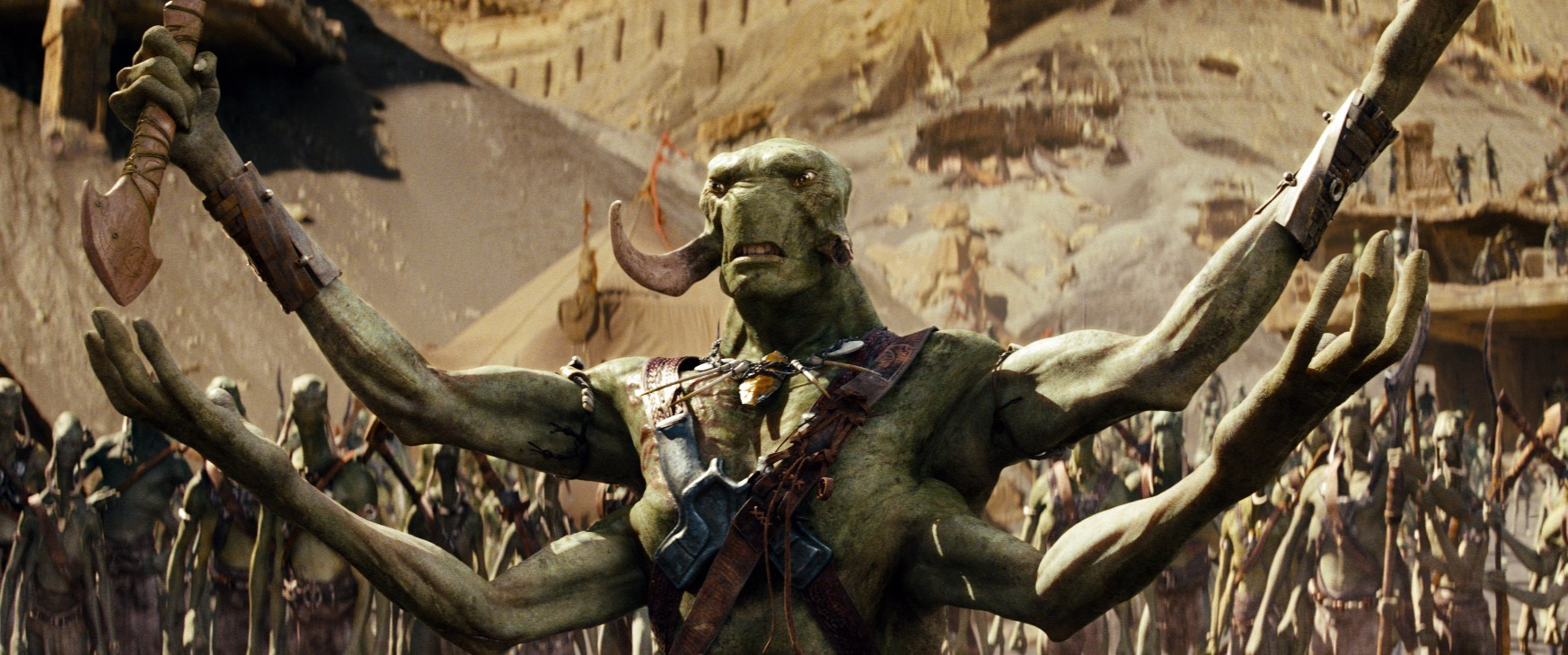 Green-skinned Tharks in John Carter (2012)