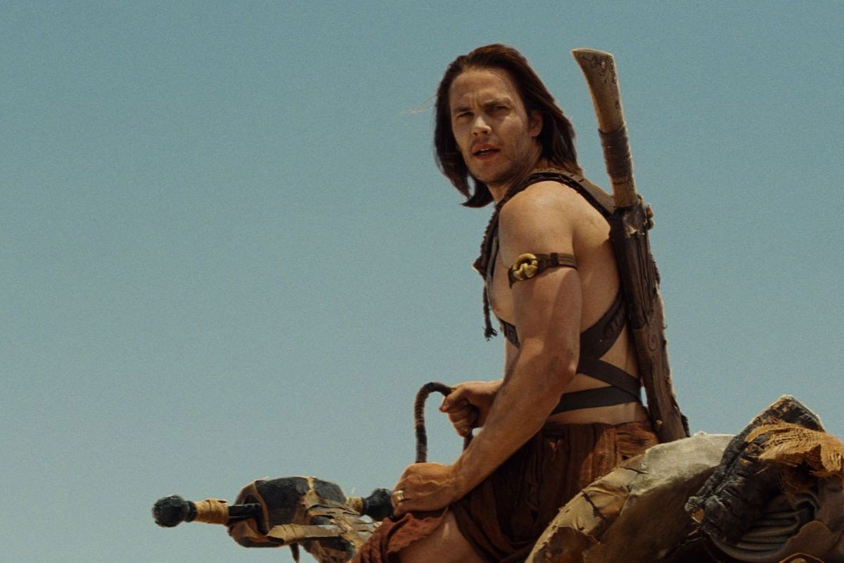 Taylor Kitsch as John Carter (2012)