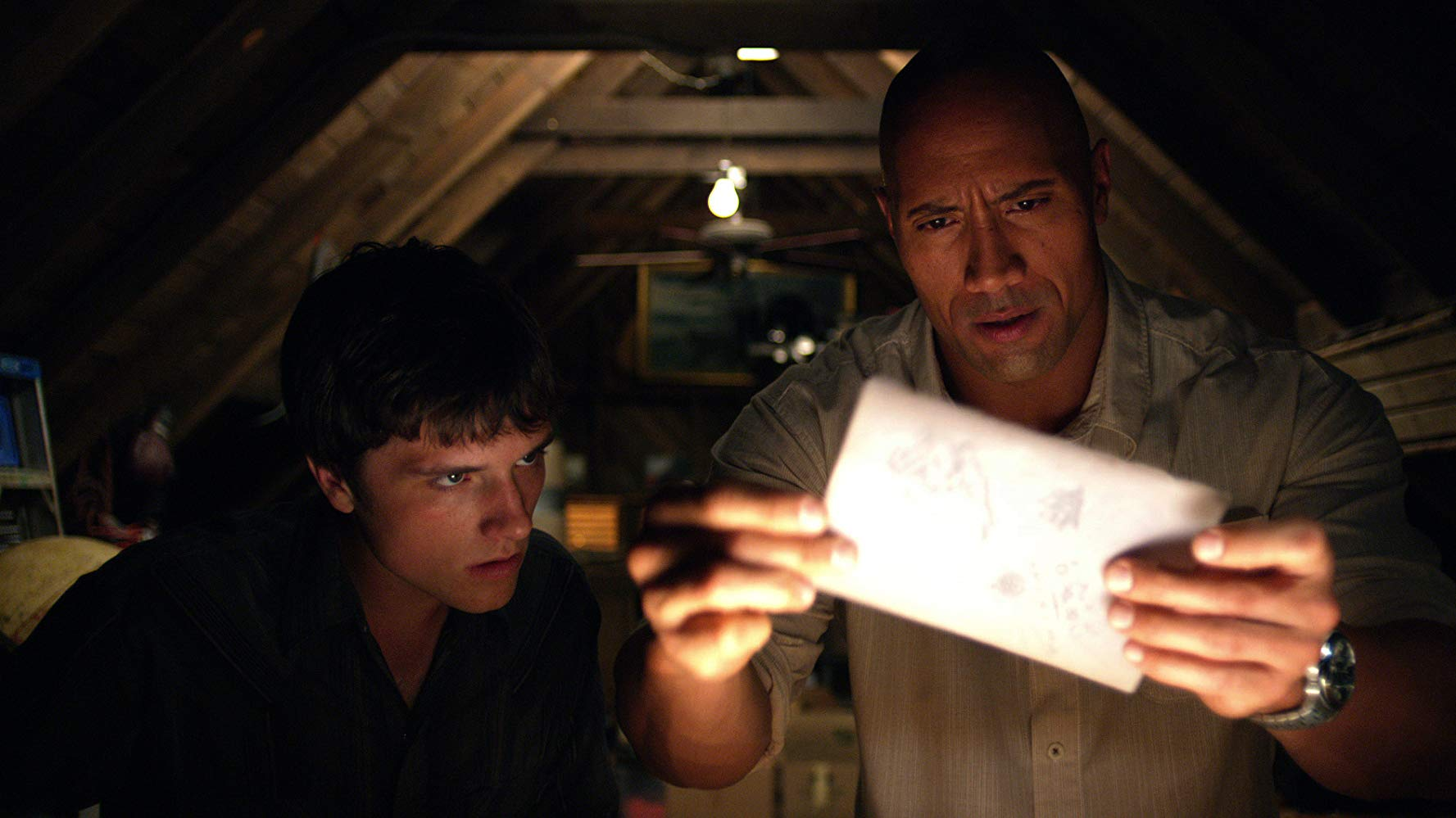 Decoding Jules Verne - Josh Hutcherson, Dwayne Johnson in Journey 2: The Mysterious Island (2012)
