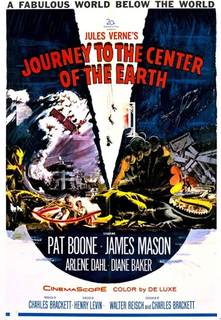 Journey to the Center of the Earth (1959) poster