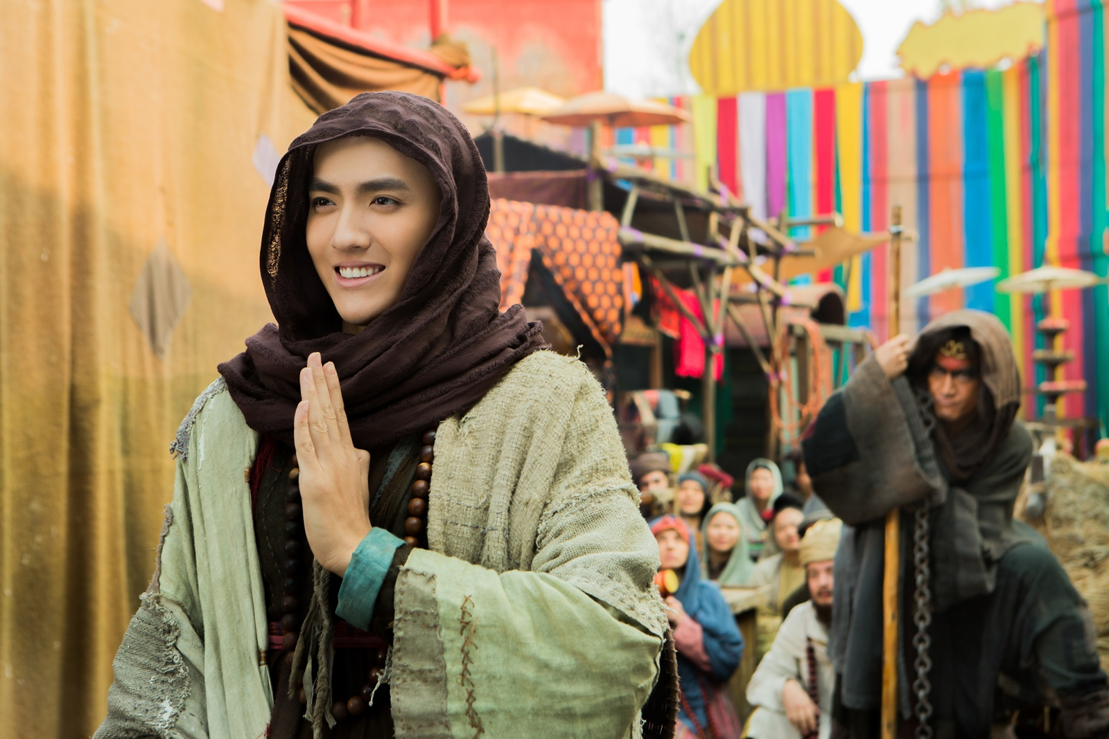 Kris Wu as Monk Tang in Journey to the West: Demon Chapter (2017)
