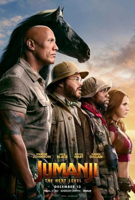 Jumanji: The Next Level (2019) poster
