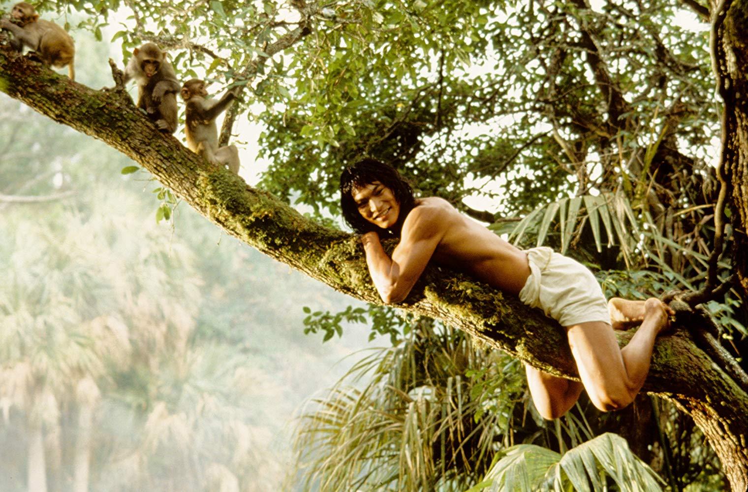 Jason Lee as Mowgli in The Jungle Book (1994)