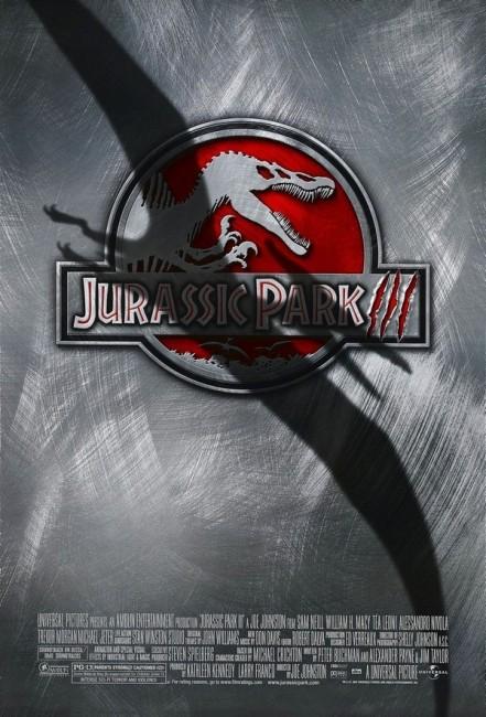 Jurassic Park III (2001) poster