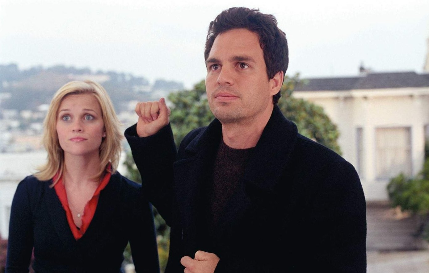 Mark Ruffalo and a ghostly Reese Witherspoon in Just Like Heaven (2005)