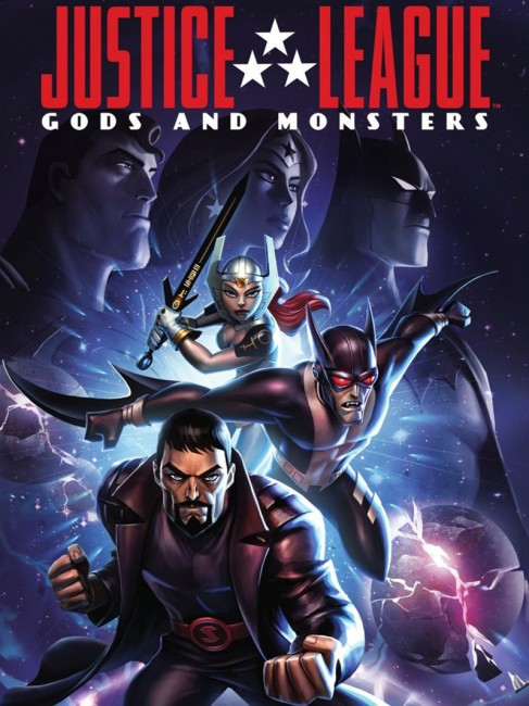 Justice League Gods and Monsters (2015) poster