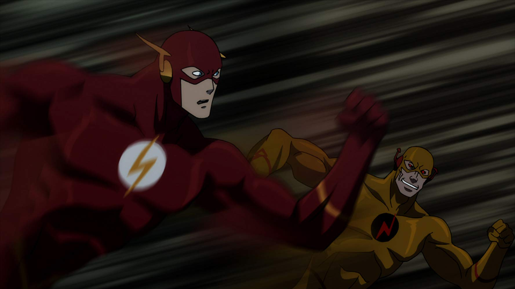 The Flash and Professor Zoom in Justice League The Flashpoint Paradox (2013)