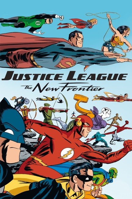 Justice League The New Frontier (2008) poster 2