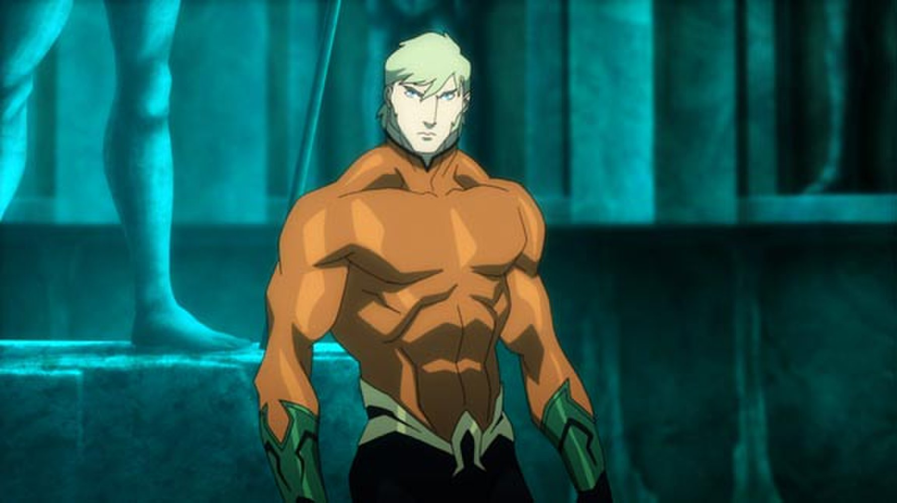 Aquaman in Justice League Throne of Atlantis (2015)
