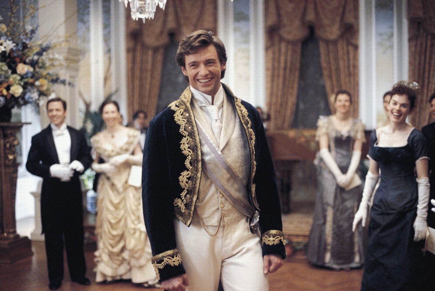 Hugh Jackman as Leopold Mountbatten, Duke of Albany in Kate & Leopold (2001)
