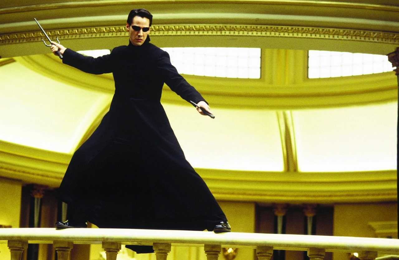 Keanu Reeves as Neo in The Matrix (1999)