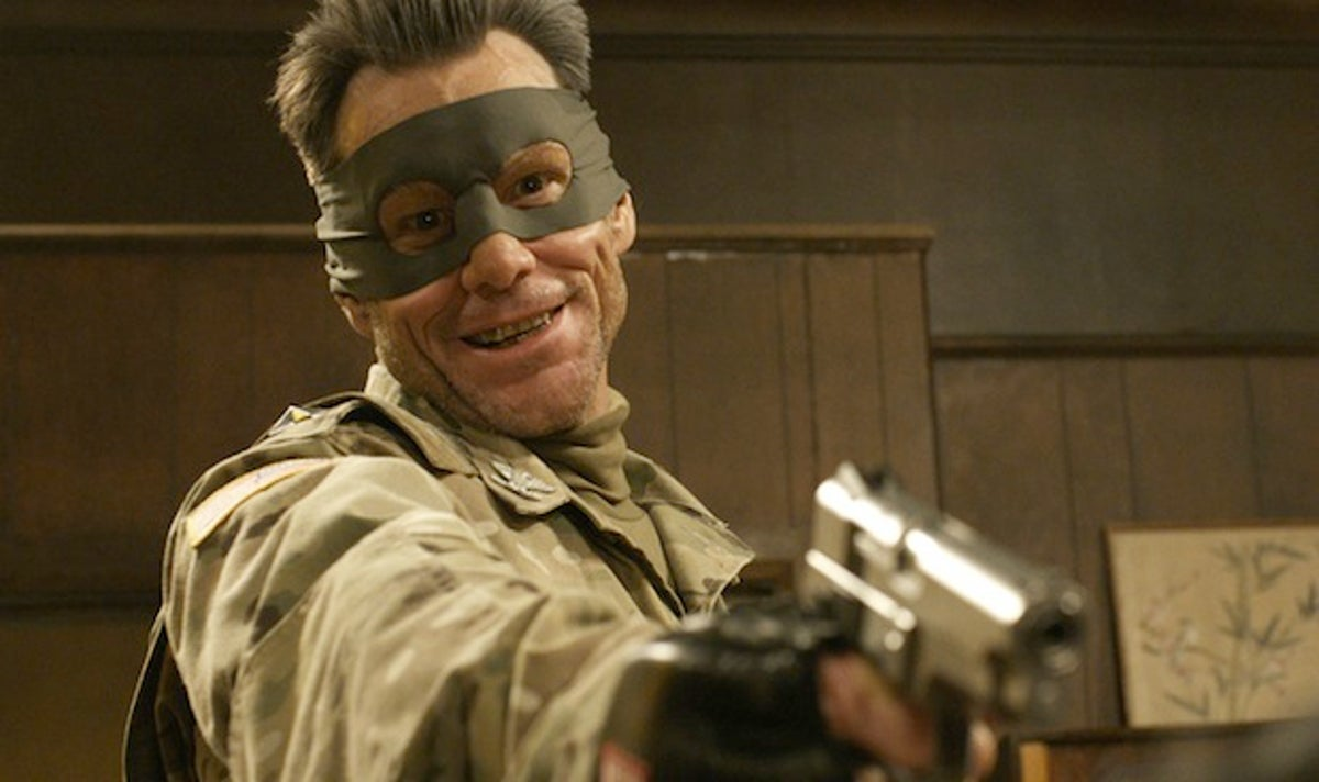 Jim Carrey as Colonel Stars and Stripes in Kick-Ass 2 (2013)
