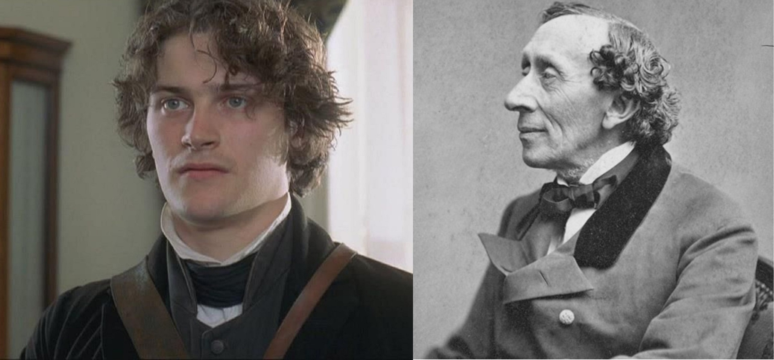 Kieran Bew and the real Hans Christian Andersen