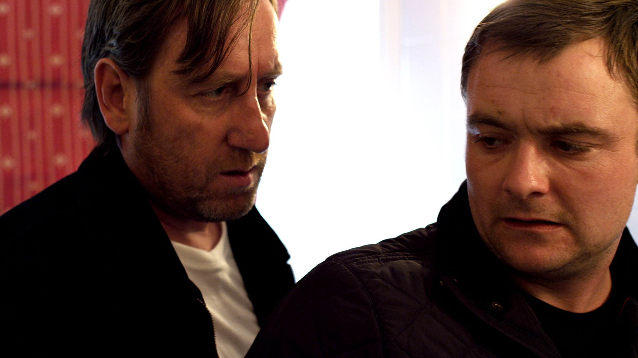 The domestic lives of two hitmen - (l to r) Michael Smiley and Neil Maskell in Kill List (2011)
