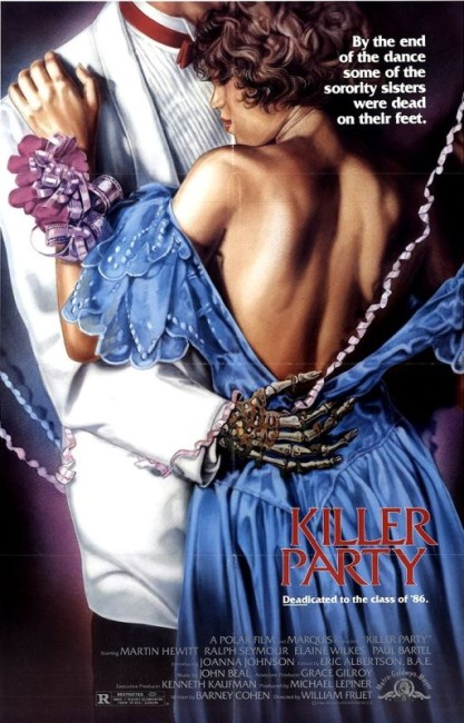 Killer Party (1986) poster