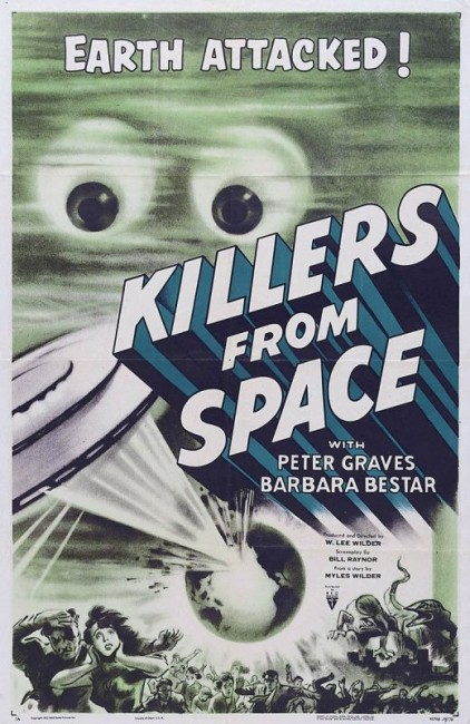 Killers from Space (1953) poster