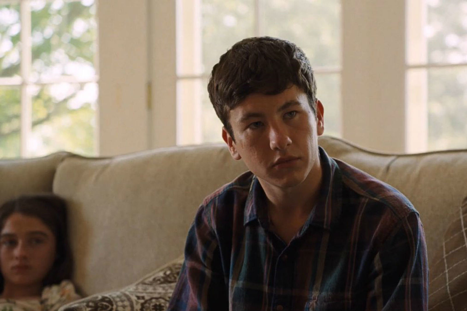 Young Martin Lang (Barry Keoghan) outlines the curse that gas afflicted Colin Farrell's family for the death of his father in The Killing of a Sacred Deer (2017