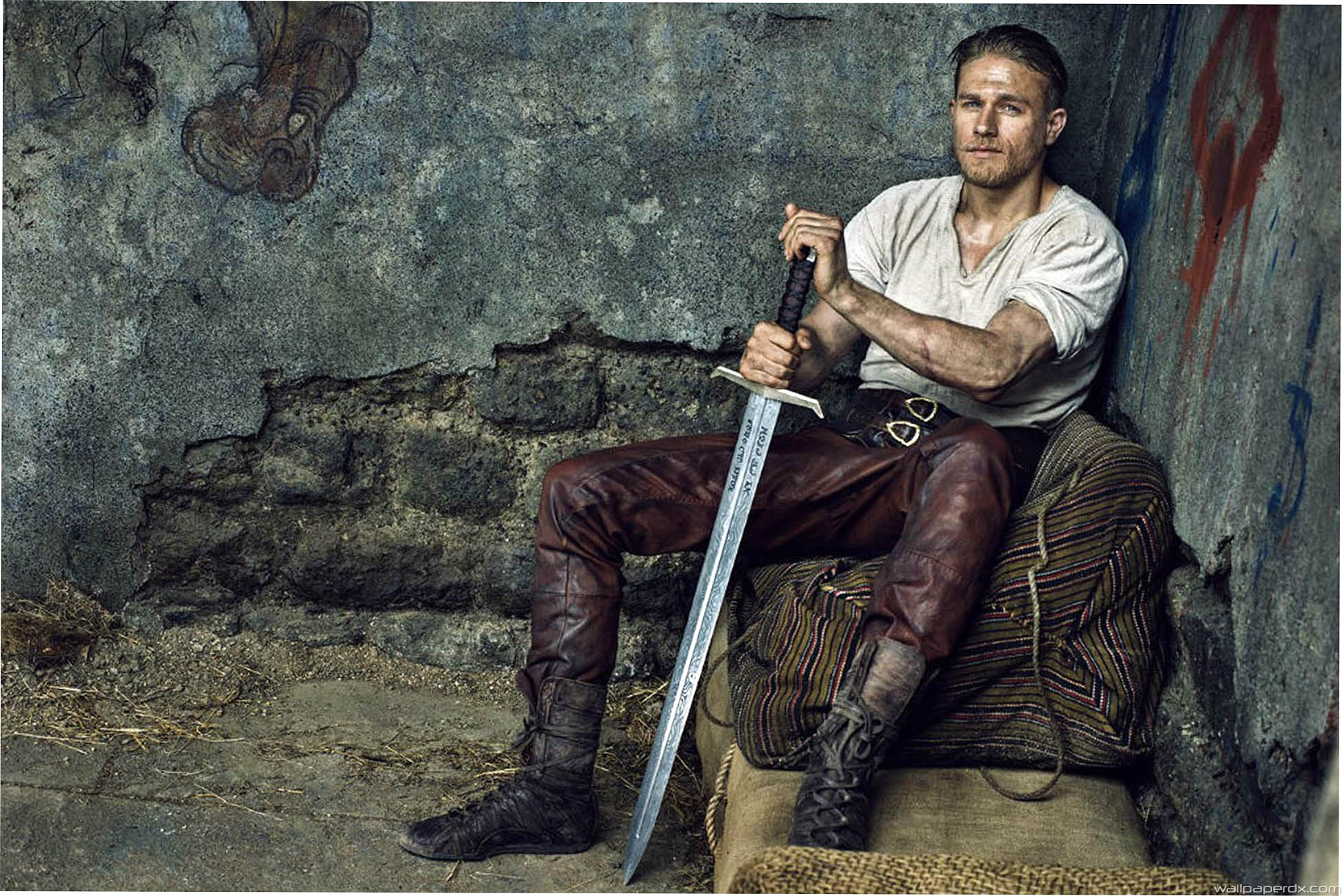 Charlie Hunnam as Arthur in King Arthur: Legend of the Sword (2017)