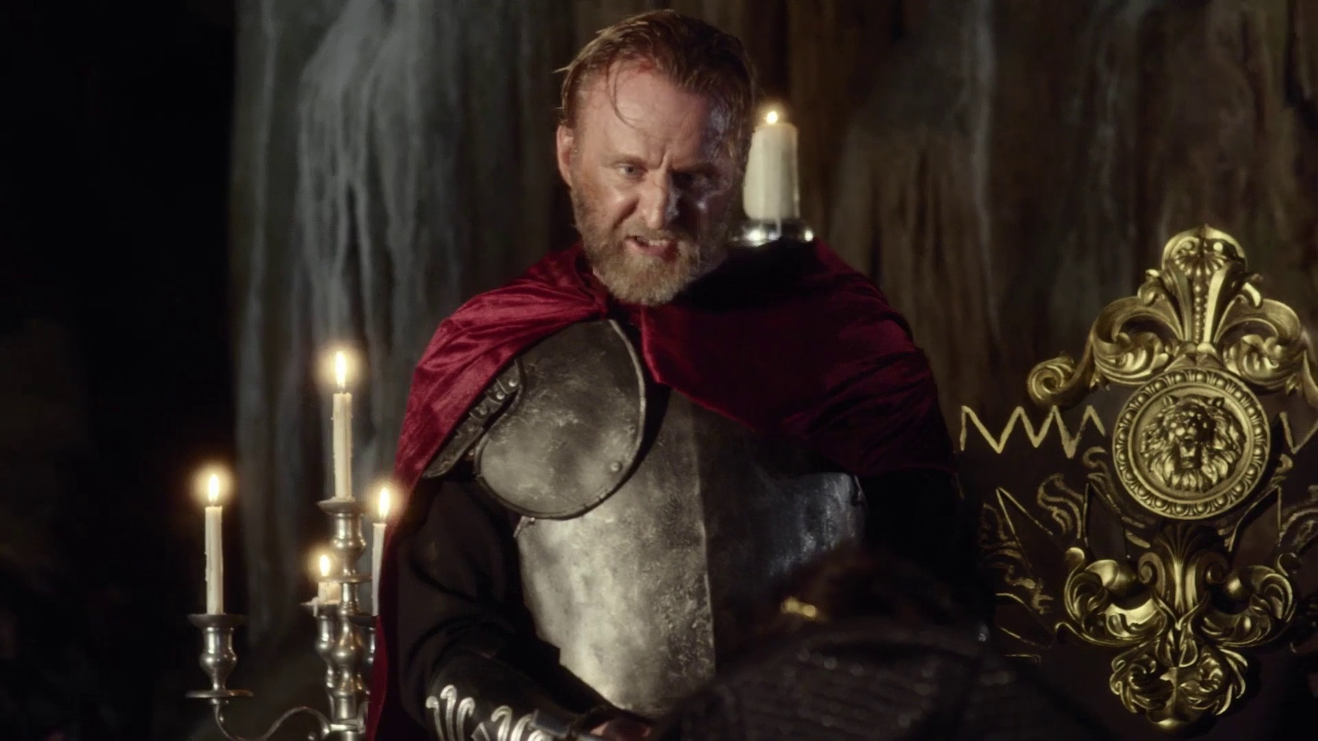 King Arthur (Byron Gibson) in King Arthur and the Knights of the Round Table (2017)
