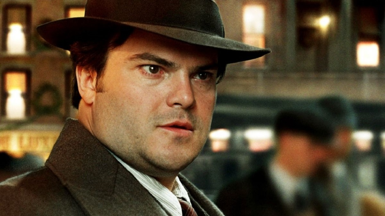 Jack Black as movie producer Carl Denham in King Kong (2005)