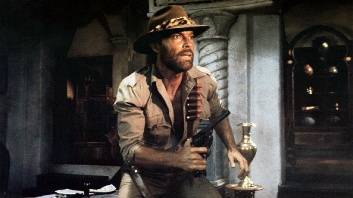 Richard Chamberlain as Allan Quatermain in King Solomons Mines (1985)