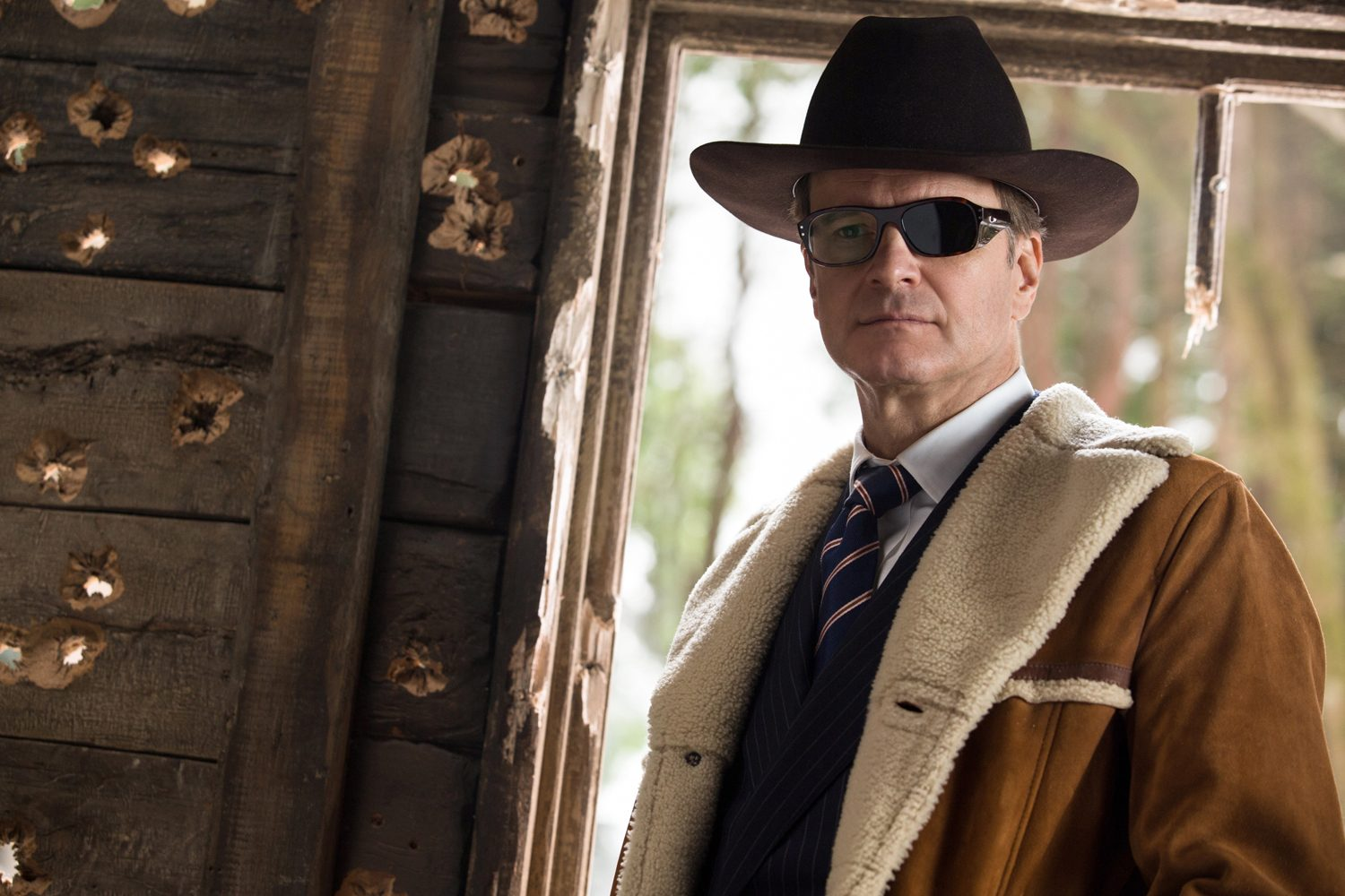 Colin Firth back from the dead as Harry Hart in Kingsman: The Golden Circle (2017)