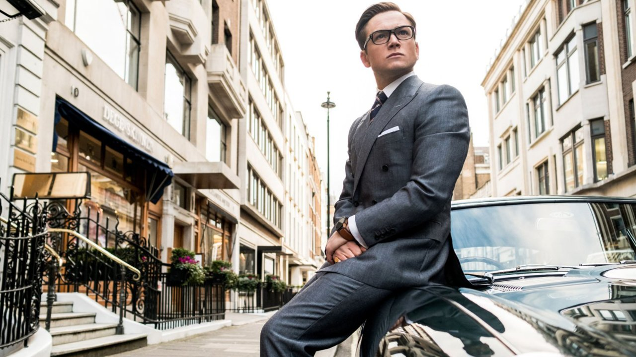 Taron Egerton back in action as Kingsman agent Eggsy Unwin in Kingsman: The Golden Circle (2017)