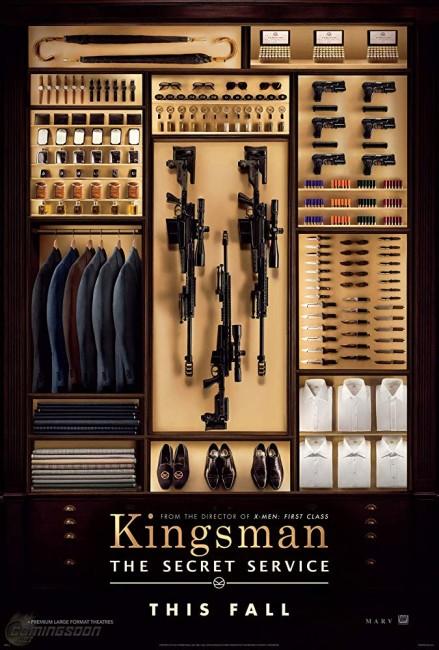 Kingsman: The Secret Service (2015) poster