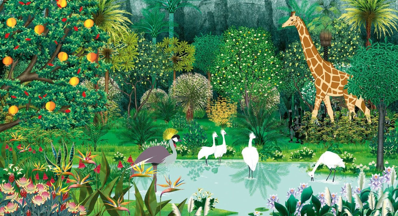 Kirikou goes on an journey through Africa in Kirikou and the Wild Beasts (2006)