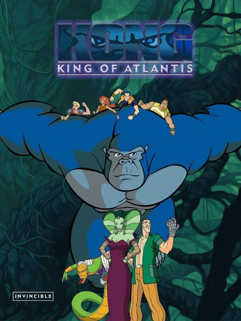 Kong, King of Atlantis (2005) poster