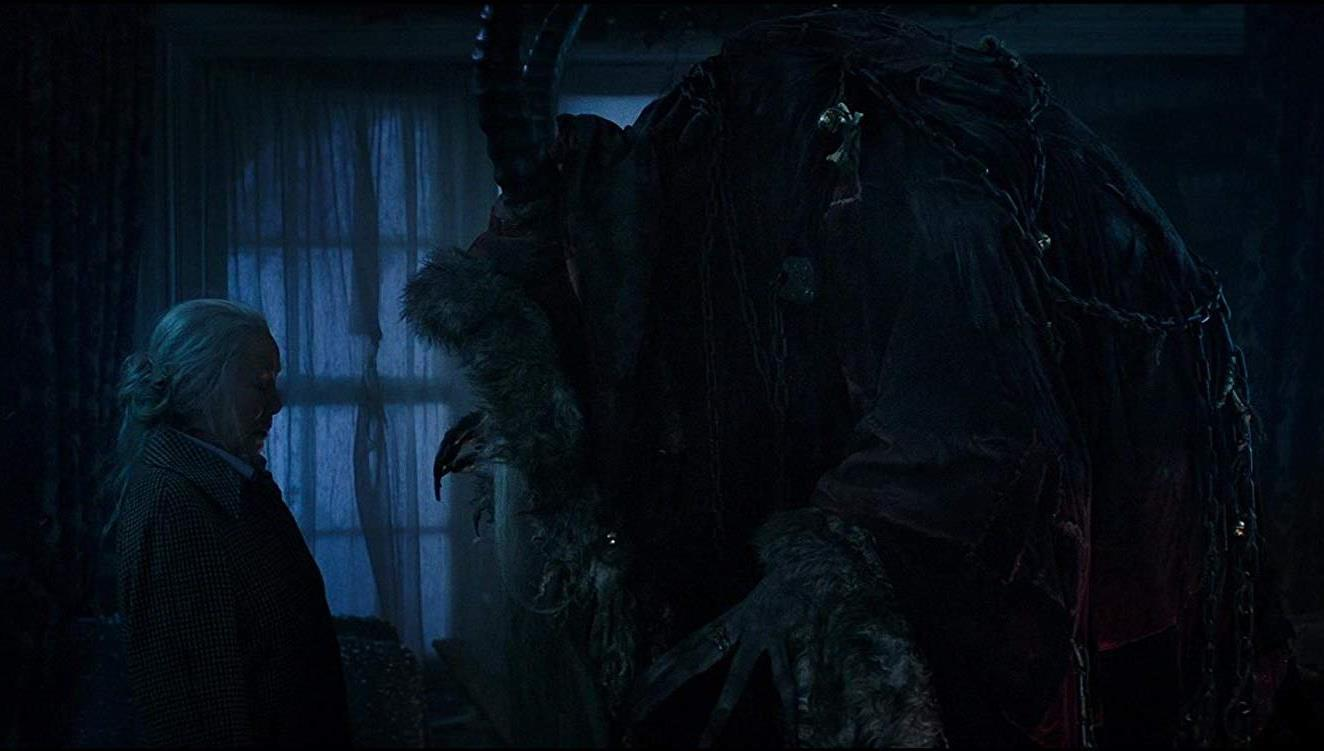Grandmother Omi (Krista Stadler) encounters Krampus (2015)