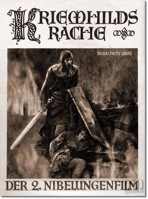 Kriemhild's Revenge (1924) poster