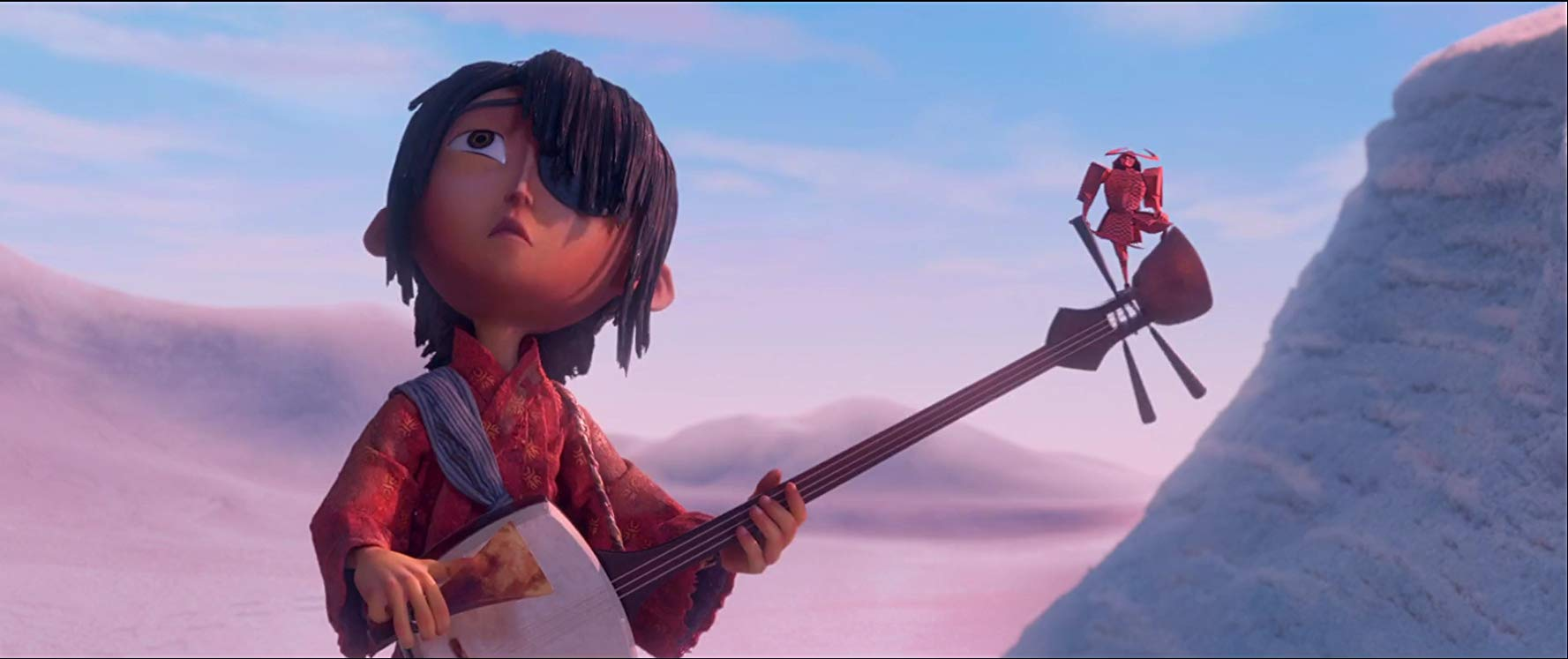 Kubo (voied by Art Parkinson) in Kubo and the Two Strings (2016)