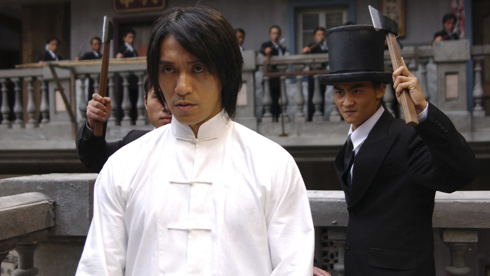 Director, writer and lead actor Stephen Chow in Kung Fu Hustle (2004)